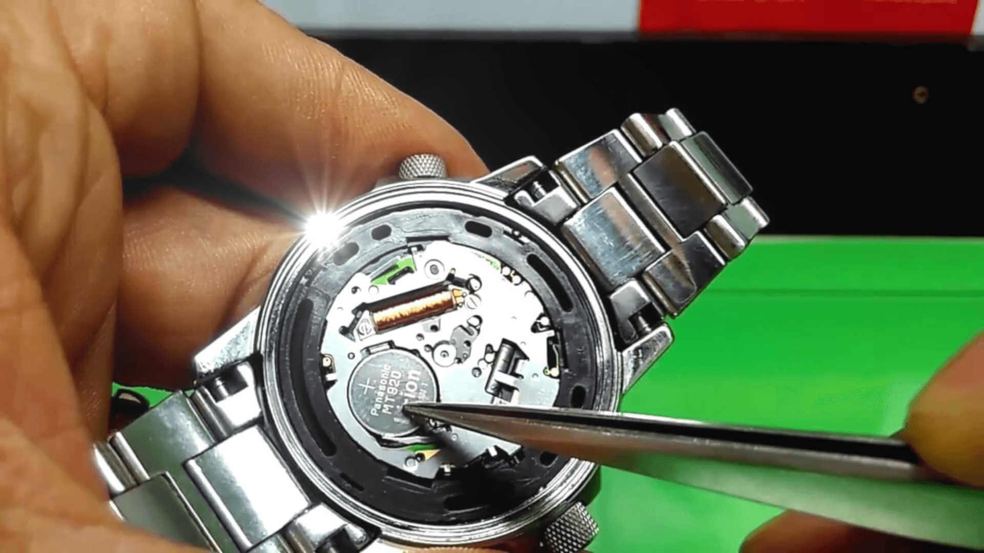CITIZEN WATCH BEING REPAIRED